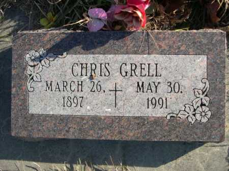 GRELL, CHRIS - Douglas County, Nebraska | CHRIS GRELL - Nebraska Gravestone Photos