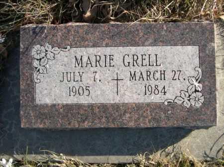 GRELL, MARIE - Douglas County, Nebraska | MARIE GRELL - Nebraska Gravestone Photos