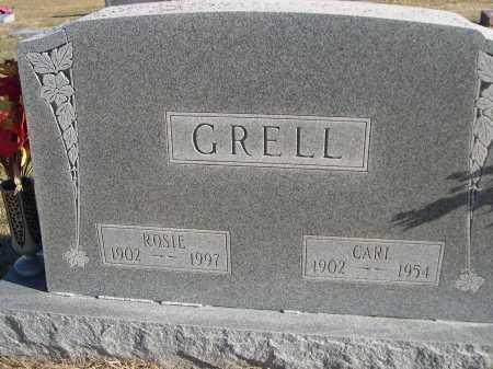 GRELL, CARL - Douglas County, Nebraska | CARL GRELL - Nebraska Gravestone Photos
