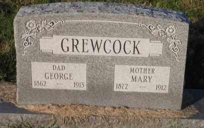 GREWCOCK, GEORGE - Douglas County, Nebraska | GEORGE GREWCOCK - Nebraska Gravestone Photos