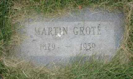 GROTE, MARTIN - Douglas County, Nebraska | MARTIN GROTE - Nebraska Gravestone Photos