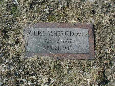 GROVER, CHRIS ASHER - Douglas County, Nebraska   CHRIS ASHER GROVER - Nebraska Gravestone Photos