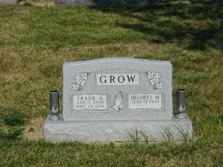GROW, FRANK A - Douglas County, Nebraska | FRANK A GROW - Nebraska Gravestone Photos