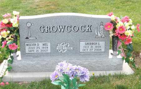 GROWCOCK, MELVIN D (MEL) - Douglas County, Nebraska   MELVIN D (MEL) GROWCOCK - Nebraska Gravestone Photos