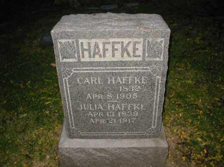 HAFFKE, CARL - Douglas County, Nebraska | CARL HAFFKE - Nebraska Gravestone Photos