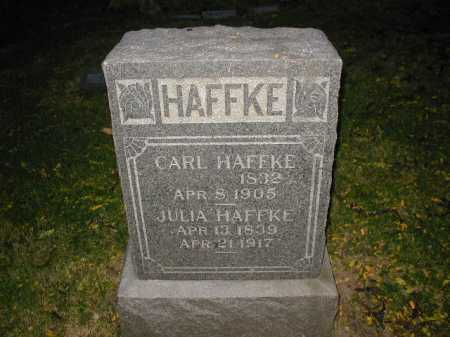HAFFKE, JULIA - Douglas County, Nebraska | JULIA HAFFKE - Nebraska Gravestone Photos