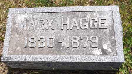 HAGGE, MARX - Douglas County, Nebraska | MARX HAGGE - Nebraska Gravestone Photos