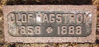 HAGSTROM, OLOF - Douglas County, Nebraska | OLOF HAGSTROM - Nebraska Gravestone Photos