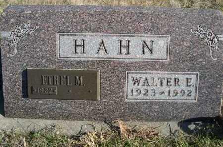 HAHN, ETHEL M. - Douglas County, Nebraska   ETHEL M. HAHN - Nebraska Gravestone Photos
