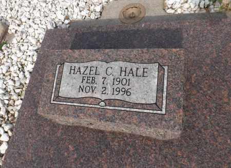 HALE, HAZEL C. (CLOSE UP) - Douglas County, Nebraska | HAZEL C. (CLOSE UP) HALE - Nebraska Gravestone Photos