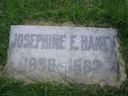 HANES, JOSEPHINE E - Douglas County, Nebraska | JOSEPHINE E HANES - Nebraska Gravestone Photos