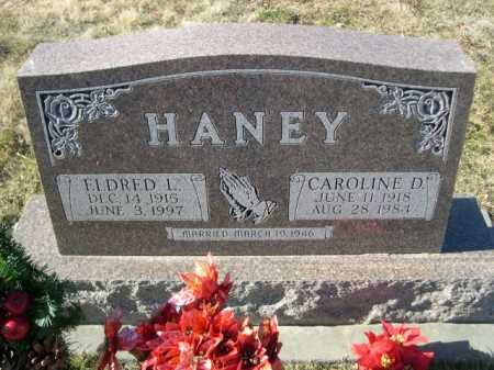 HANEY, ELDRED L. - Douglas County, Nebraska | ELDRED L. HANEY - Nebraska Gravestone Photos