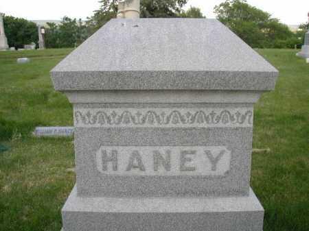 HANEY, FAMILY - Douglas County, Nebraska   FAMILY HANEY - Nebraska Gravestone Photos