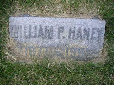 HANEY, WILLIAM P - Douglas County, Nebraska   WILLIAM P HANEY - Nebraska Gravestone Photos