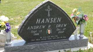 HANSEN, ANDREW R. - Douglas County, Nebraska | ANDREW R. HANSEN - Nebraska Gravestone Photos
