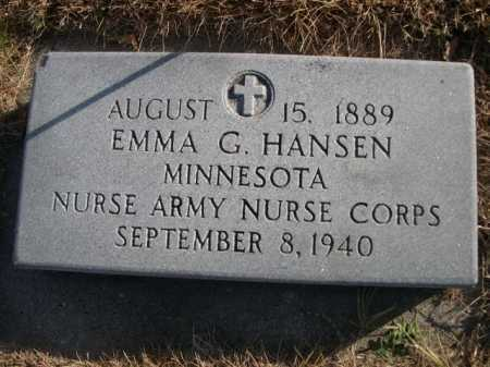 HANSEN, EMMA G. - Douglas County, Nebraska | EMMA G. HANSEN - Nebraska Gravestone Photos