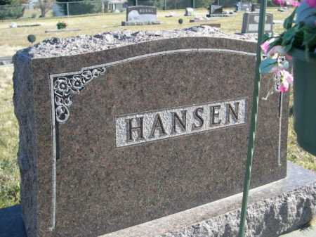 HANSEN, FAMILY - Douglas County, Nebraska | FAMILY HANSEN - Nebraska Gravestone Photos