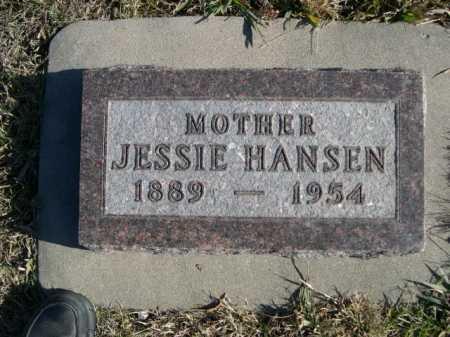 HANSEN, JESSIE - Douglas County, Nebraska | JESSIE HANSEN - Nebraska Gravestone Photos