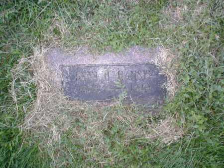 HANSEN, JOHN H - Douglas County, Nebraska | JOHN H HANSEN - Nebraska Gravestone Photos