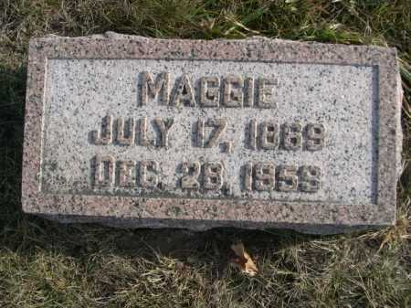 HANSEN, MAGGIE - Douglas County, Nebraska   MAGGIE HANSEN - Nebraska Gravestone Photos