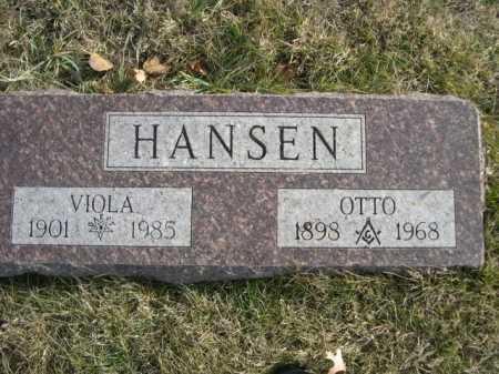 HANSEN, OTTO - Douglas County, Nebraska | OTTO HANSEN - Nebraska Gravestone Photos