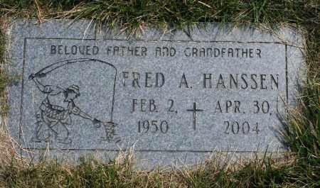 HANSSEN, FRED A - Douglas County, Nebraska   FRED A HANSSEN - Nebraska Gravestone Photos