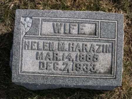 HARAZIN, HELEN M. - Douglas County, Nebraska | HELEN M. HARAZIN - Nebraska Gravestone Photos