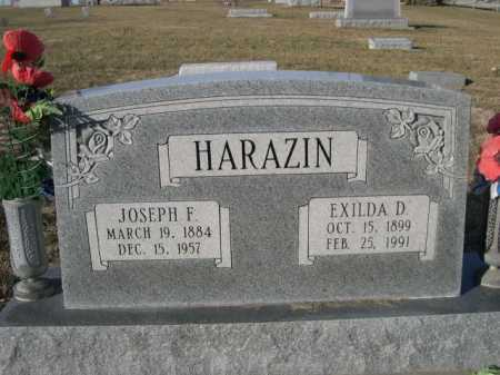 HARAZIN, JOSEPH F. - Douglas County, Nebraska | JOSEPH F. HARAZIN - Nebraska Gravestone Photos