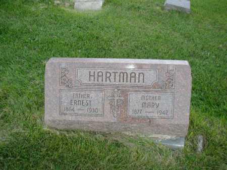 HARTMAN, MARY - Douglas County, Nebraska   MARY HARTMAN - Nebraska Gravestone Photos