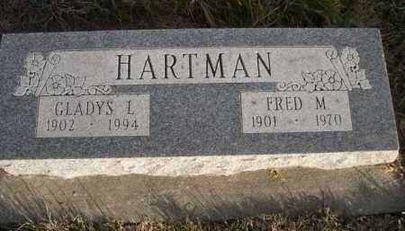 HARTMAN, GLADYS L. - Douglas County, Nebraska | GLADYS L. HARTMAN - Nebraska Gravestone Photos