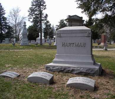 HARTMAN, MONUMENT - Douglas County, Nebraska | MONUMENT HARTMAN - Nebraska Gravestone Photos