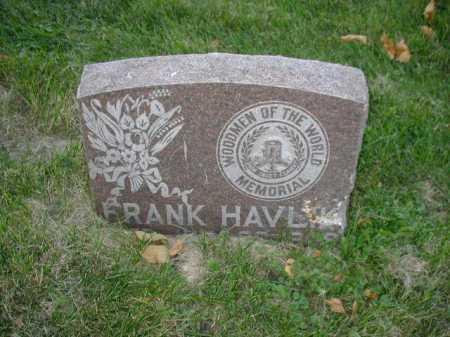 HAVLIK, FRANK - Douglas County, Nebraska | FRANK HAVLIK - Nebraska Gravestone Photos