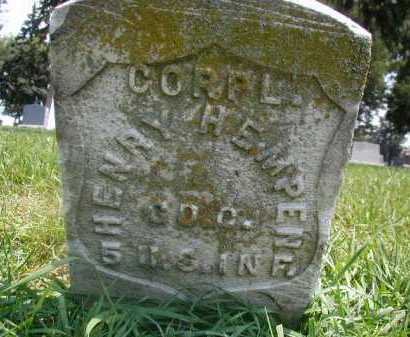 HEMPEN, HENRY - Douglas County, Nebraska | HENRY HEMPEN - Nebraska Gravestone Photos