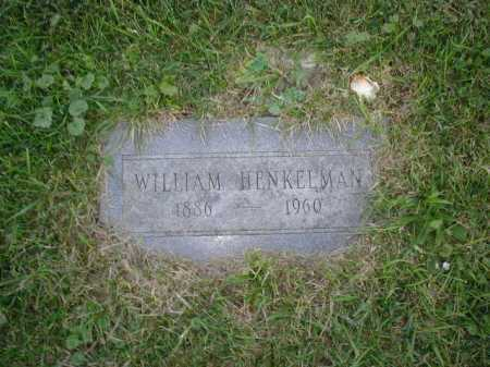 HENKELMAN, WILLIAM - Douglas County, Nebraska | WILLIAM HENKELMAN - Nebraska Gravestone Photos