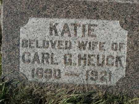 HEUCK, KATIE - Douglas County, Nebraska | KATIE HEUCK - Nebraska Gravestone Photos