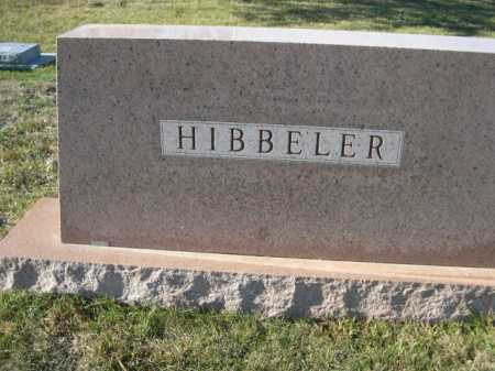 HIBBELER, FAMILY - Douglas County, Nebraska   FAMILY HIBBELER - Nebraska Gravestone Photos