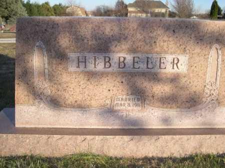 HIBBELER, FAMILY - Douglas County, Nebraska | FAMILY HIBBELER - Nebraska Gravestone Photos