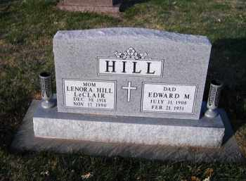 LECLAIR HILL, LENORA - Douglas County, Nebraska   LENORA LECLAIR HILL - Nebraska Gravestone Photos