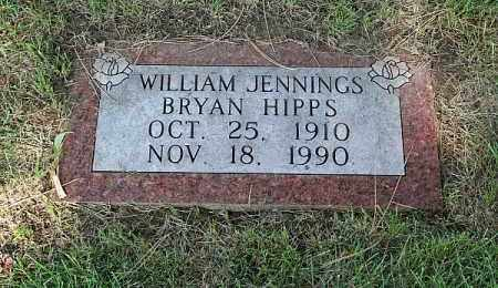 HIPPS, WILLIAM JENNINGS BRYAN - Douglas County, Nebraska | WILLIAM JENNINGS BRYAN HIPPS - Nebraska Gravestone Photos