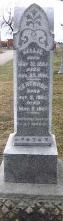 HIRSCH, GERTRUDE - Douglas County, Nebraska   GERTRUDE HIRSCH - Nebraska Gravestone Photos