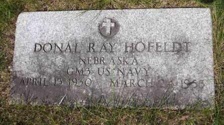 HOFELDT, DONAL RAY - Douglas County, Nebraska   DONAL RAY HOFELDT - Nebraska Gravestone Photos