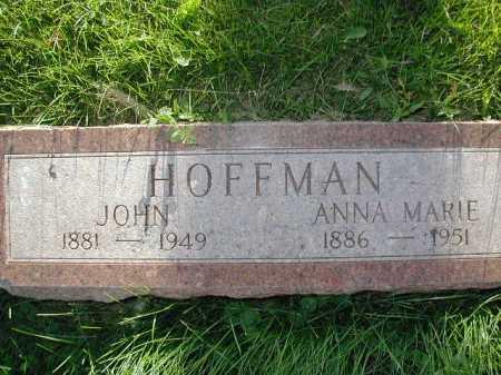 KUHN HOFFMAN, ANNA MARIE - Douglas County, Nebraska   ANNA MARIE KUHN HOFFMAN - Nebraska Gravestone Photos