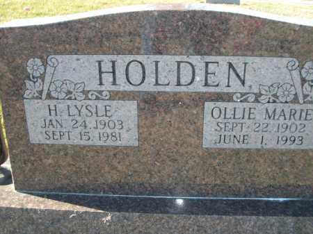 HOLDEN, OLLIE MARIE - Douglas County, Nebraska | OLLIE MARIE HOLDEN - Nebraska Gravestone Photos