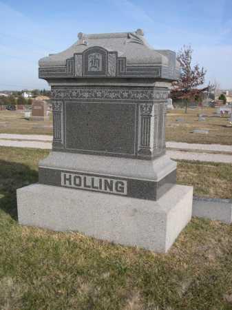 HOLLING, FAMILY - Douglas County, Nebraska | FAMILY HOLLING - Nebraska Gravestone Photos