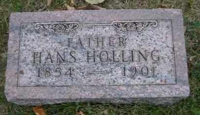 HOLLING, HANS - Douglas County, Nebraska | HANS HOLLING - Nebraska Gravestone Photos