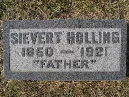 HOLLING, SIEVERT - Douglas County, Nebraska | SIEVERT HOLLING - Nebraska Gravestone Photos