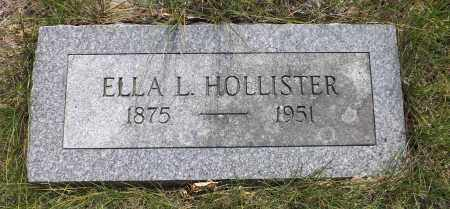 HOLLISTER, ELLA L. - Douglas County, Nebraska   ELLA L. HOLLISTER - Nebraska Gravestone Photos