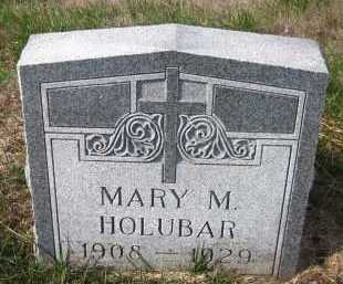 HOLUBAR, MARY M. - Douglas County, Nebraska | MARY M. HOLUBAR - Nebraska Gravestone Photos