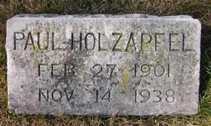 HOLZAPFEL, PAUL - Douglas County, Nebraska | PAUL HOLZAPFEL - Nebraska Gravestone Photos