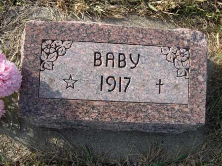 HOMANN, BABY - Douglas County, Nebraska   BABY HOMANN - Nebraska Gravestone Photos